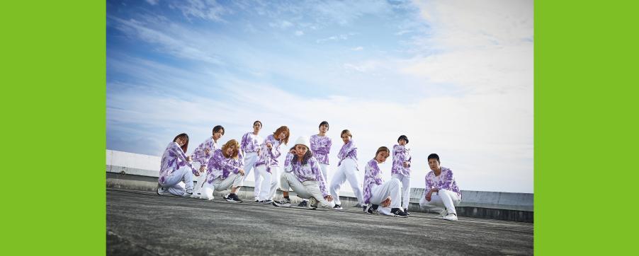 現役のプロから学び、ダンスの技術を磨き、教員免許状も取得することができる。